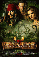 Pirates of Caribbean 2 poster