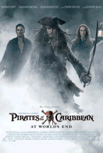 Pirates...Caribbean 3 poster